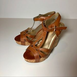 Brown GUESS wedges